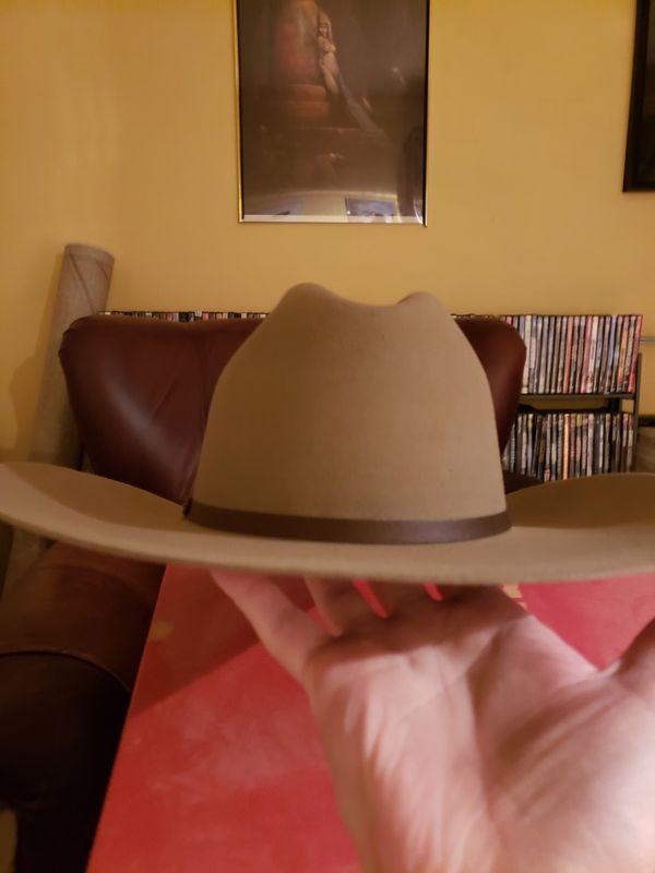 Stetson 4X beaver cowboy hat
