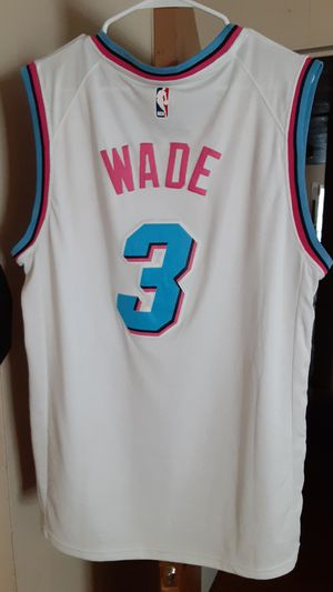 Miami heat jersey for Sale in Dickinson, TX