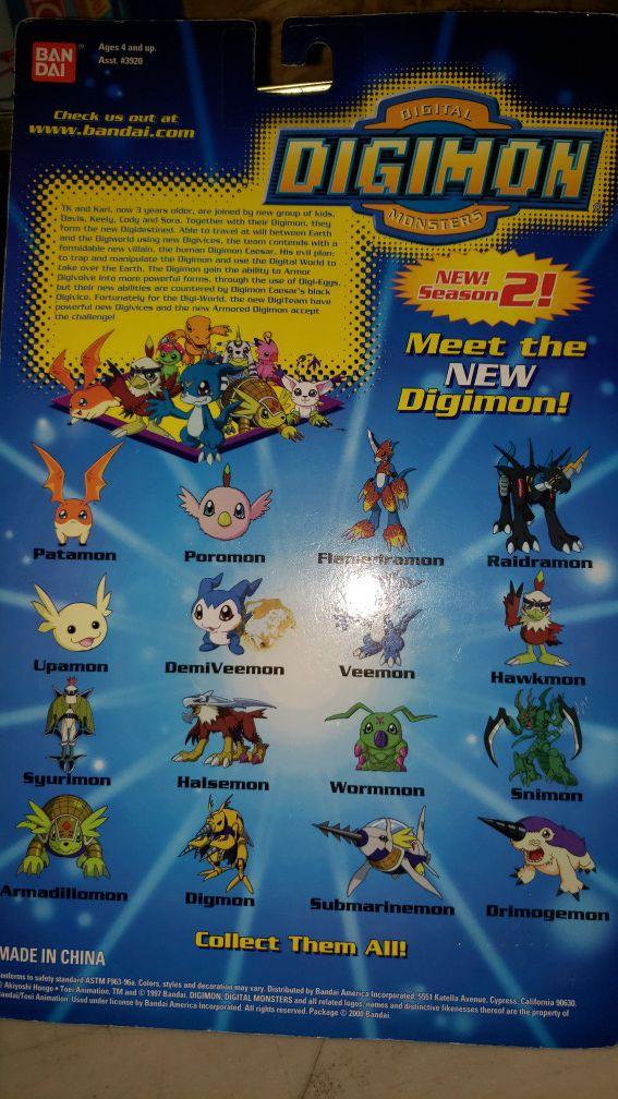 Vintage Digital Digimon Monsters