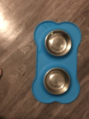 Small dog bone food bowl for Sale in Irving, TX