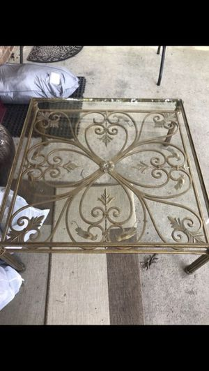 Gorgeous wrought iron coffee table antique for Sale in Lorton, VA