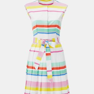 NWT Kate spade candy stripe Pleated dress for Sale for sale  Herndon, VA