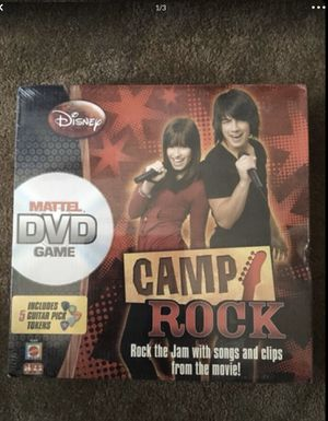 $12 for ONE DISNEY CAMP ROCK DVD GAME (for 2-6 players) -NEW IN PLASTIC (we have 2 total for sale) for Sale in Glendale, AZ