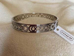 COACH Sterling Silver Bangle for Sale in Monroe Township, NJ
