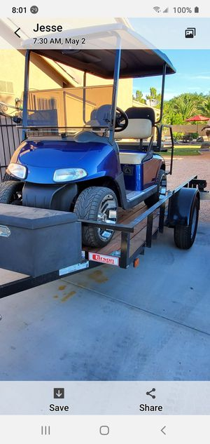 Ezgo golf cart and or trailer for Sale in El Mirage, AZ