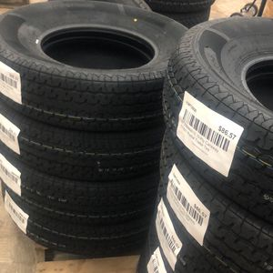"""16"""" trailer tire - ST235x80x16 10-ply radial trailer tire loaf range E brand new for Sale in Spring, TX"""