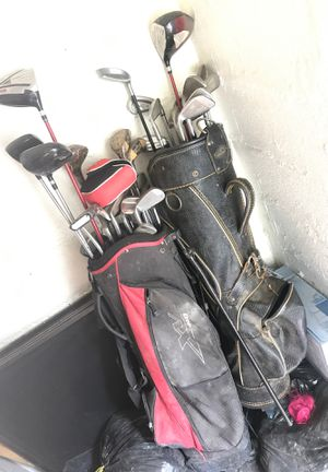Different brands of golf clubs and bags make offer for Sale in San Angelo, TX