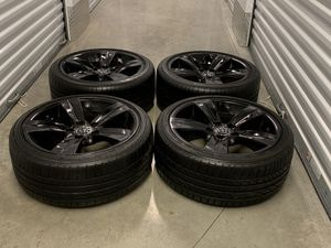 Bmw rims wheels oem Staggered size 18 5x120 for Sale in Manassas, VA