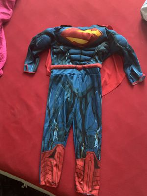 Superman 3T-4T Costume for Sale in Los Angeles, CA