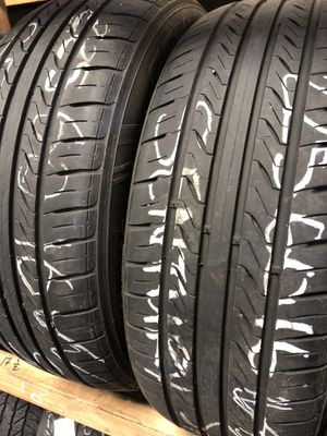 Matching pair (2) 225 60 16 tires for only $38 each with FREE INSTALL!!! for Sale in Tacoma, WA
