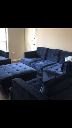 Couch Ottoman 2 Chairs for Sale in Stone Mountain,  GA