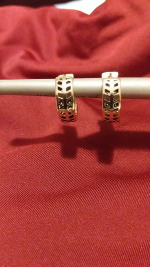 Rose gold-toned earrings for Sale in San Bernardino, CA