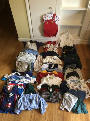 East Wenatchee- Stacks of Quality Baby (boy) Clothes- some 6, mostly 12 month for Sale in East Wenatchee, WA