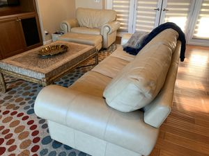 Couch, chair, ottoman, coffee table;great condition; very clean for Sale in Scottsdale, AZ