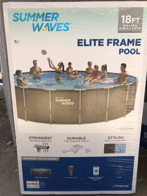 Summer Waves 18ft Swimming Pool for Sale in Riverside, CA