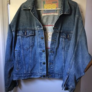Men's Vintage Denim Jacket size Large for Sale in Olney, MD