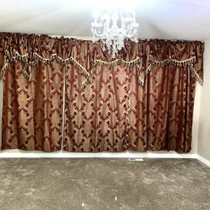 Windows curtains from JCPenney I bought for $600 now I am going to sell for $200 excellent condition like a new for Sale in Kent, WA