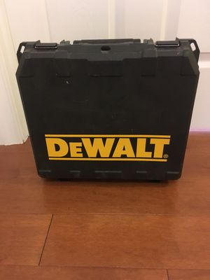 DeWalt Hard Case for Sale in Alexandria, VA