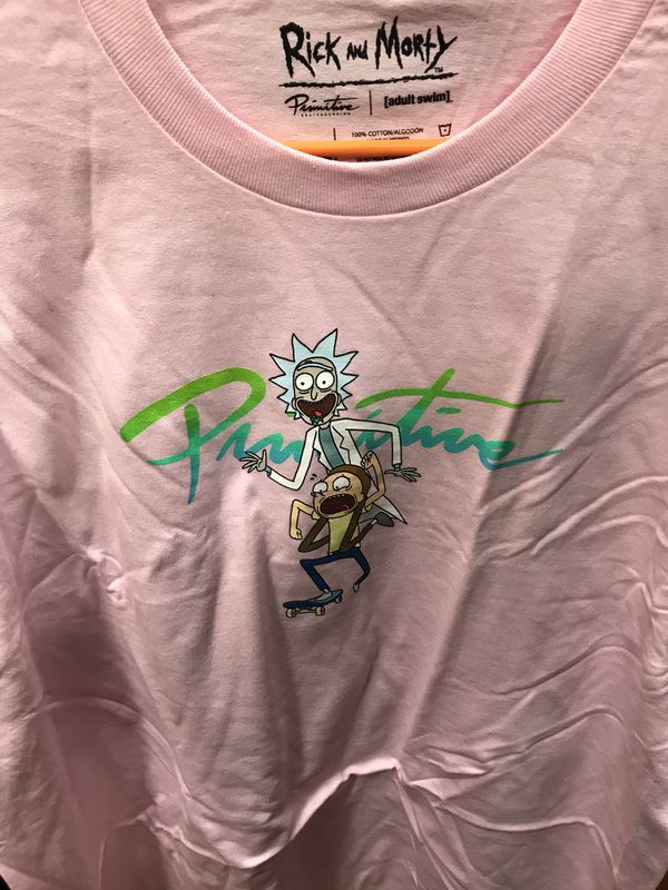 Rick and morty primitive shirts
