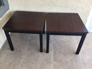 2' square end tables for Sale in Fort McDowell, AZ