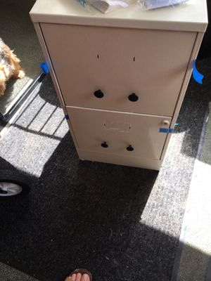 2 draw file cabinet for Sale in Woonsocket, RI