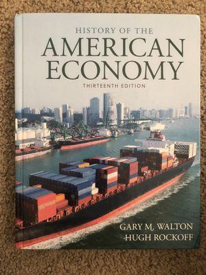 History of the American Economy for Sale in Walla Walla, WA