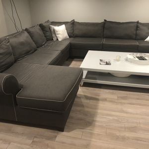Sectional Sofa and RH Coffee table (very large set) for Sale in Philadelphia, PA