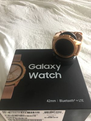 Samsung Galaxy Watch (Woman's) 42mm Rose Gold for Sale in Washington, DC