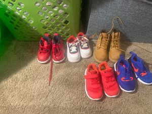 Boy shoes size 7C (wore 1-2 times) for Sale in Pittsville, MD