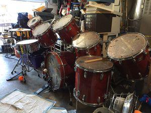 10 piece vintage Ludwig drum set for Sale in Redwood City, CA