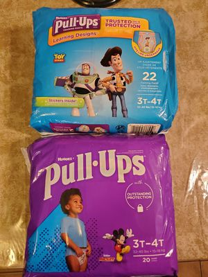 Huggies pull•ups for Sale in Houston, TX