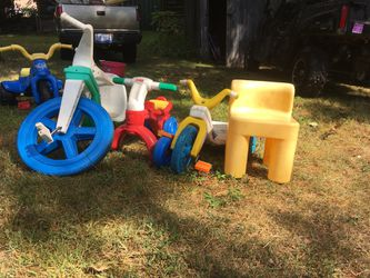 Free kid toys will be sitting by the curb 127 East Market St. for Sale in Fife Lake,  MI