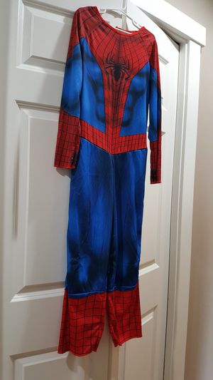 Spider man Costume Size 8- 10 kids for Sale in Everett, WA