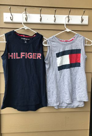 2 Woman Sm Tommy Hilfiger shirts for Sale in Prineville, OR