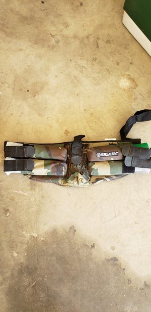 Spyder paintball ammo belt for Sale in Sanger, CA