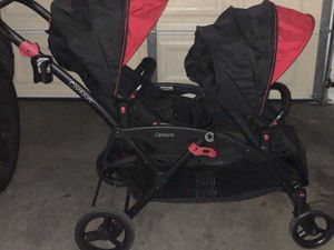 Contours double stroller For Newborn, Infant and Toddler perfect for twins for Sale in Las Vegas, NV
