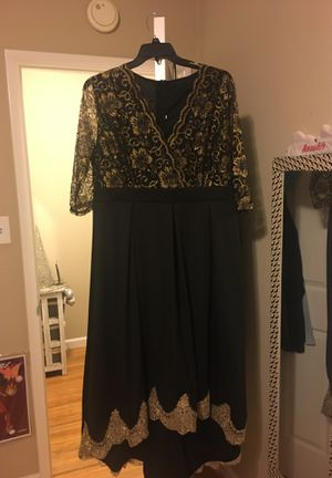 Black and gold Christmas dress for Sale in San Lorenzo, CA