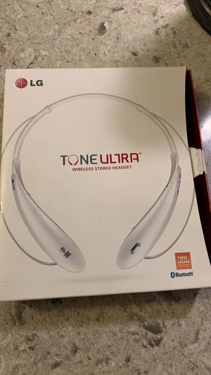 Bluetooth headset LG tone ultra for Sale in Elizabeth, NJ
