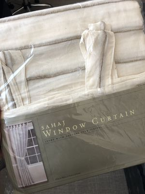 New in package Sahaj window curtain for Sale in Portland, OR
