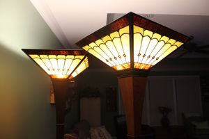Two Stiffel lamps for Sale in Greenville, SC