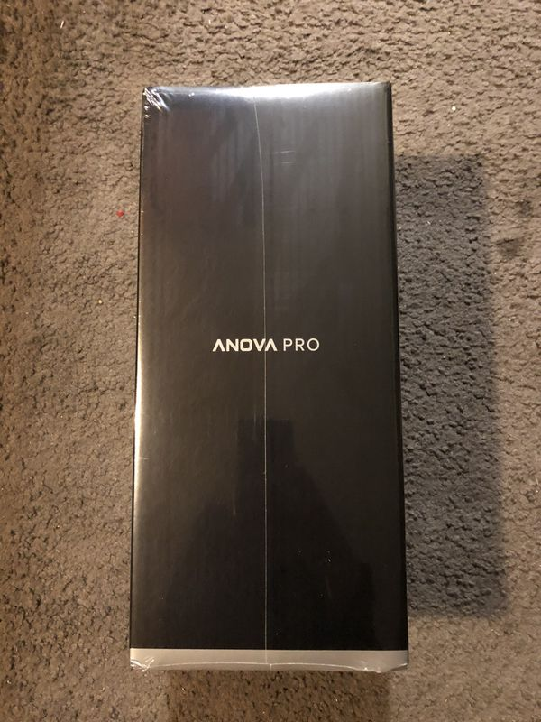 Anova Culinary | Sous Vide Precision Cooker Pro (WiFi) | 1200 Watts | All Metal | Anova App Included