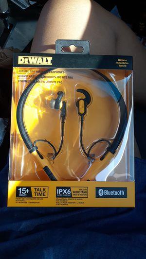 Dewalt; Job Pro Wireless headphones for Sale in Los Angeles, CA