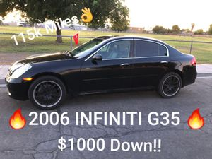 2006 INFINITI G35 STICK SHIFT for Sale in Las Vegas, NV