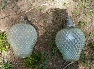 Vintage hanging lights for Sale in Stone Mountain, GA