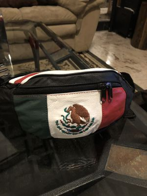 Mexico Flag Fanny pack/waist bag leather for Sale in Las Vegas, NV