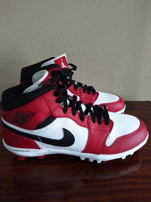 "Air Jordan 1 retro men's football cleats ""Chicago's"" for Sale in Huntsville, AL"