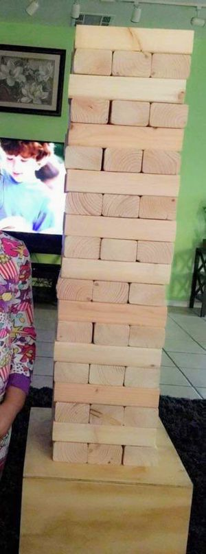 Homemade giant Jenga for Sale in Whittier, CA