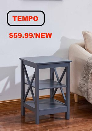 X Side End Table, Grey for Sale in Westminster, CA