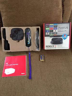 Roku 2 xs for Sale in Silver Spring, MD