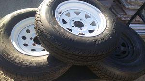 Trailer tires 3 for $175 obo for Sale in Chandler, AZ